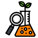 Research Laboratory Plant Icon