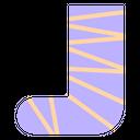 Broken Orthopedic Bandage Icon