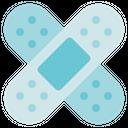Physiotherapy Plaster Bandage Icon