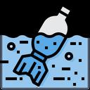 Bottle Waste Pollution Icon
