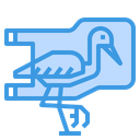 Bird Plastic Bag Icon