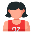 Player Avatar Woman Icon