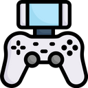 Playing Video Game Icon