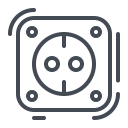Plug Socket Powerpoint Icon