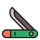 Knife Camping Hiking Icon