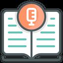 Podcast Books Education Icon