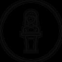 Podium Speaker Presentation Icon