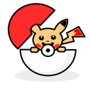 Pokemon Pokeball Pikachu Icon