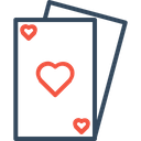 Poker Card Game Icon