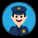 Police Cop Security Icon