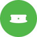 Police Cap Uniform Icon