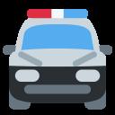 Police Car Patroling Icon