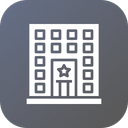 Police Station Law Icon