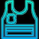 Bulletproof Bulletproof Vest Armor Icon