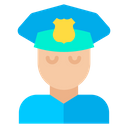 Avatar Policeman Man Icon