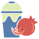 Pomegranate Juice Icon