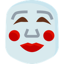 Poppers Smile Mask Icon