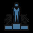 Position Podium Ranking Icon