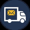 Postal Truck Icon
