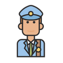 Postman Police Mail Icon
