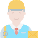 Postman Delivery Courier Icon