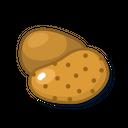 Potato Green Food Icon