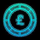 Pound Pound Coin Coin Icon
