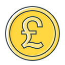 Pound Currency Money Icon