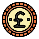 Pound Currency Financial Icon