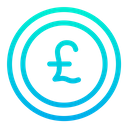 Coin Currency Pound Icon