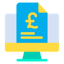 Pound Document Icon