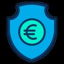 Secure Euro Euro Security Protected Euro Icon