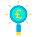 Pound Search Icon