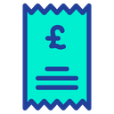 Pound Statement Icon