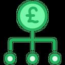 Business Pound Money Icon