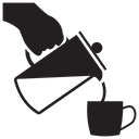 Pouring Coffee Icon