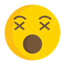 Artboard Pouting Face Angry Face Icon