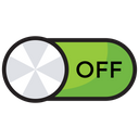 Toggle Button Power Button Power Off Icon