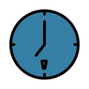 Time Date Eat Icon