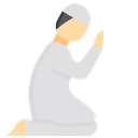 Praying Man Icon