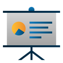Presentation Business Startup Icon
