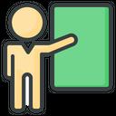 Presentation Teacher Classroom Icon