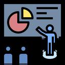 Presentation Skill Information Seminar Icon