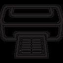 Print Production Computer Printer Inkjet Printer Icon