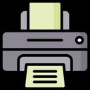 Printer Device Machine Icon