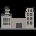Prison Police Station Jail Icon