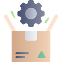 Product Management Development Setting Icon