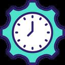 Productivity Setting Productivity Time Management Icon