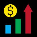 Profit Income Increase Icon
