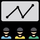 Progress Chart Team Progress Progress Icon